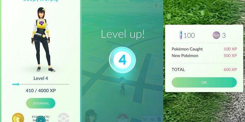Pokémon-GO-subir-rápido-de-nivel