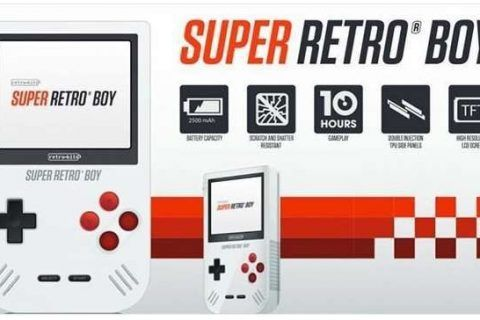 Game Boy Super Retro Boy