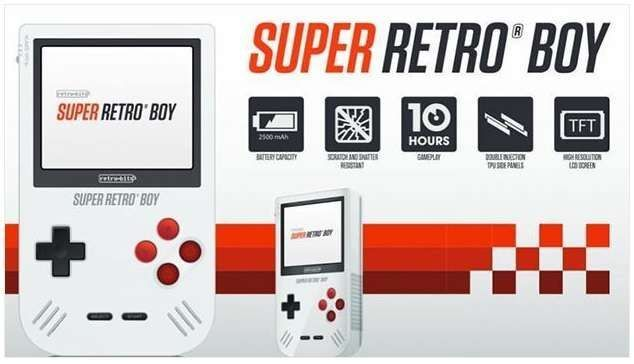 Game Boy Super Retro Boy