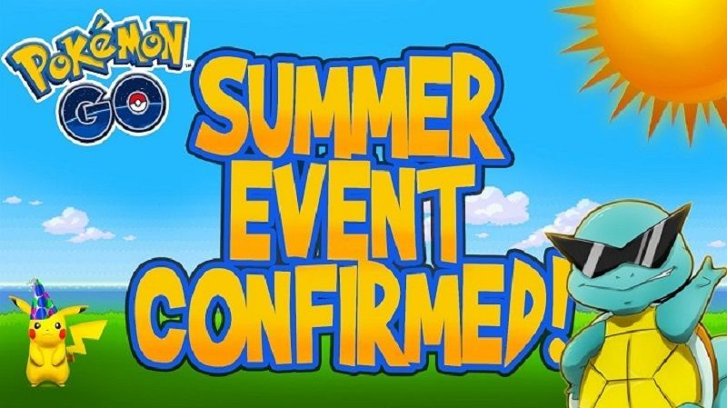 Actualización de Pokémon GO - Evento de Verano Revelado