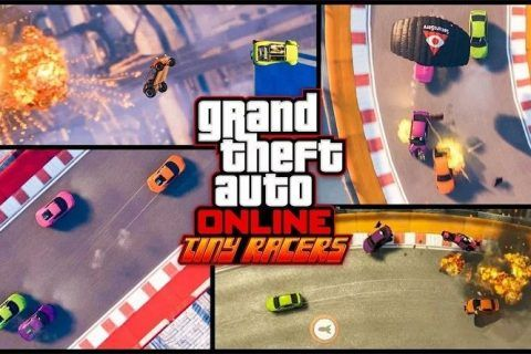 GTA 5 Tiny Racers mode