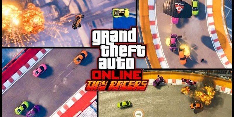 GTA 5 Tiny Racers mode