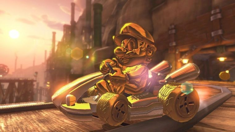 Guía Mario Kart 8 Deluxe Cómo Desbloquear Gold Mario