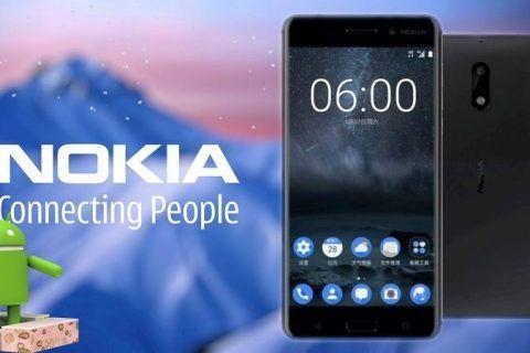 Android 7.1.1 de Nokia 6