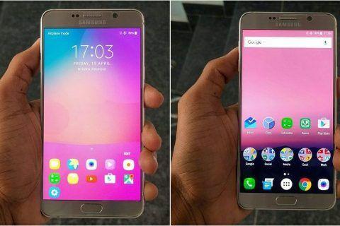 Android Nougat en el Samsung Galaxy Note 5