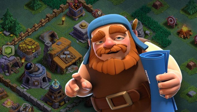 Clash of Clans Agrega la Base del Constructor