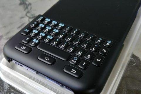 Cubierta de Teclado Para Samsung Galaxy S8 Plus