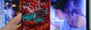 Sony Xperia XZ Premium Rojo (4)