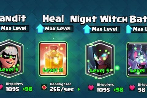 The Night Witch Llegará a Clash Royale