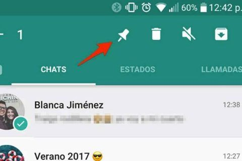 WhatsApp ya Permite Fijar tus Chats