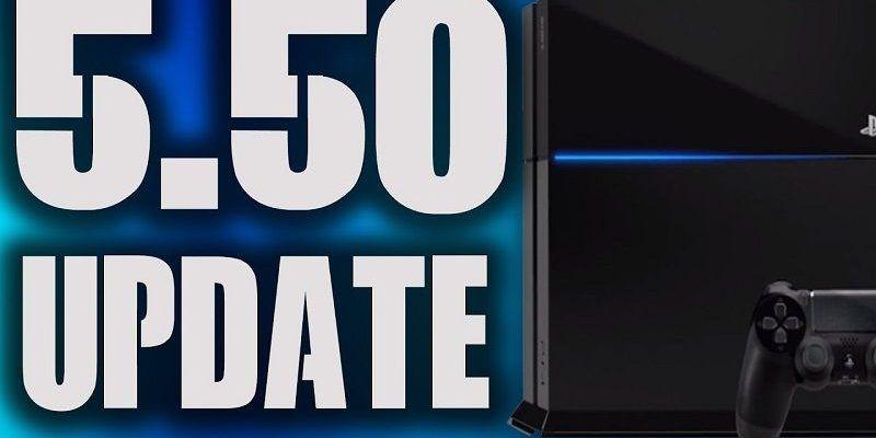 Actualización de PS4 5.50
