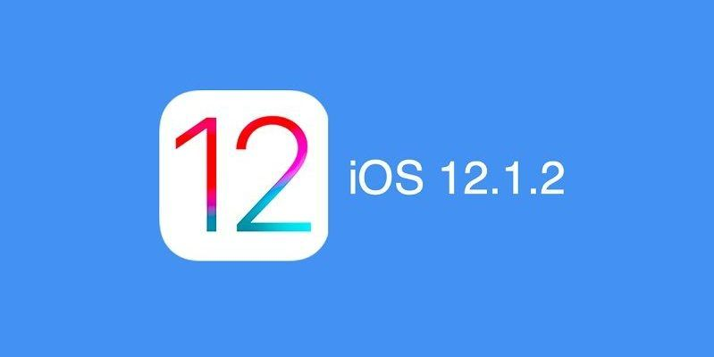 Actualización iOS 12.1.2