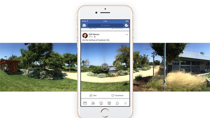 App de Facebook ya te Permite Tomar Fotos en 360