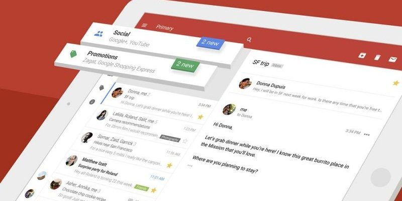 App de Gmail