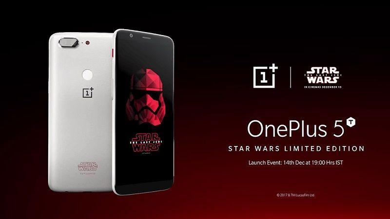 Edición de OnePlus 5T Star Wars