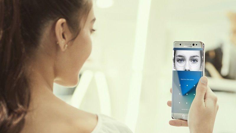 Escáner de Iris del Samsung Galaxy S8