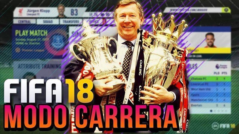 FIFA 18 Modo de Carrera