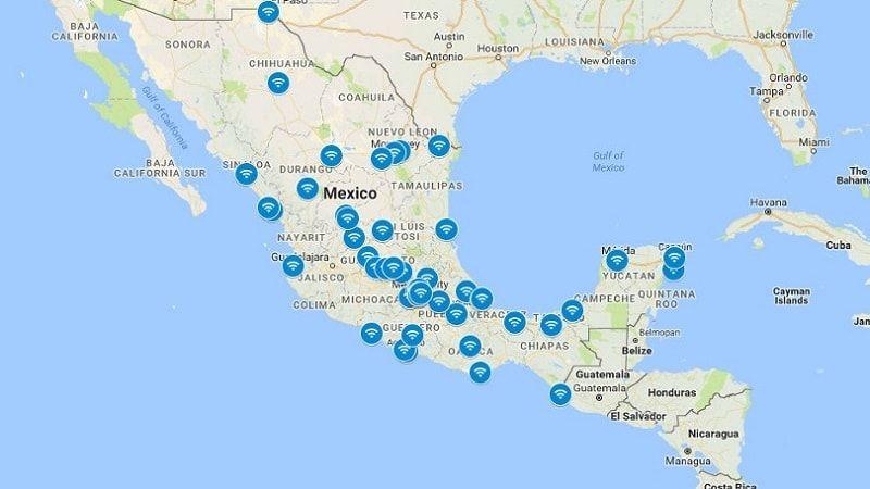 Hotspots Gratuitos de Wi-Fi de Google Station