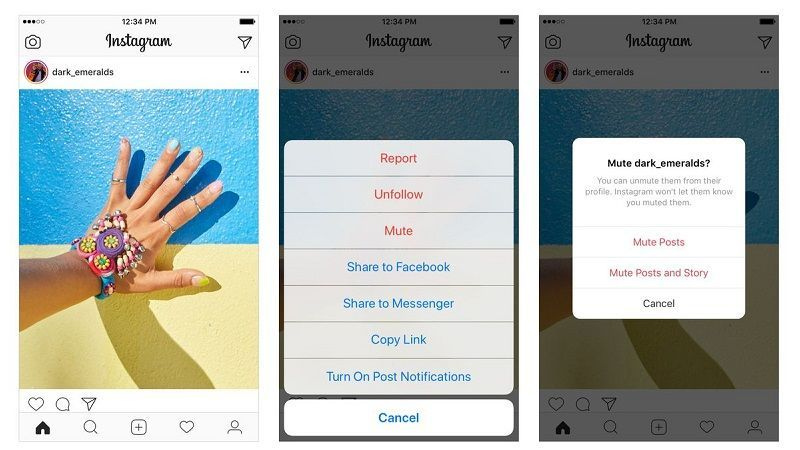 Instagram Presenta Mute