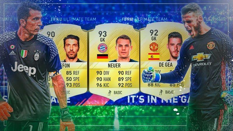 Mejores Porteros en FIFA 18