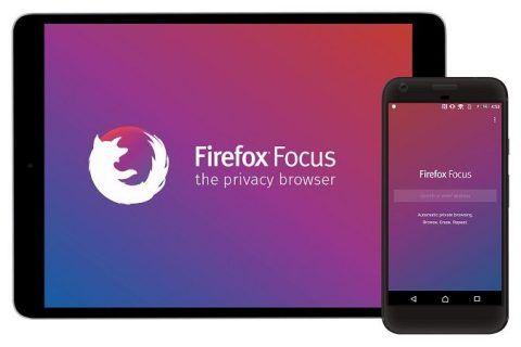 Navegador Firefox Focus