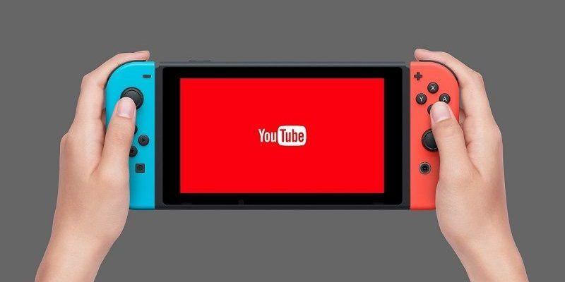 Netflix YouTube Nintendo Switch