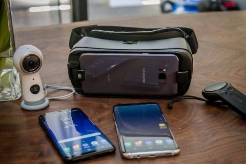 Note 8 de Samsung Gear VR