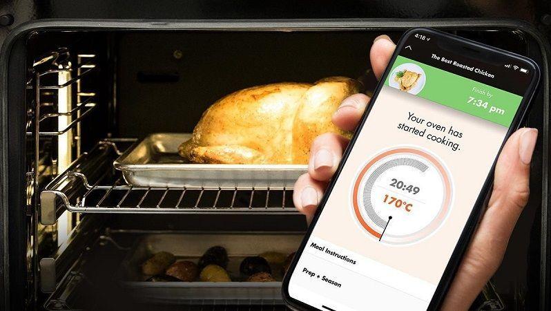 Nueva app de cocina se conecta a los hornos ge y bosch for App para disenar cocinas