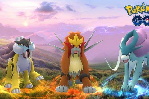 Pokemon Go Añade Raikou, Entei, y Raids Suicune