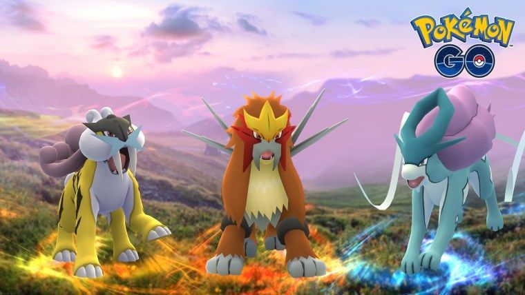 Entei, Raikou y Suicune por fin llegan al juego — Pokémon Go