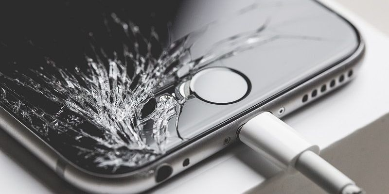 Reparar iPhone con pantalla rota