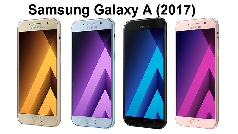 Samsung Galaxy A3 (2017) y A7 (2017)