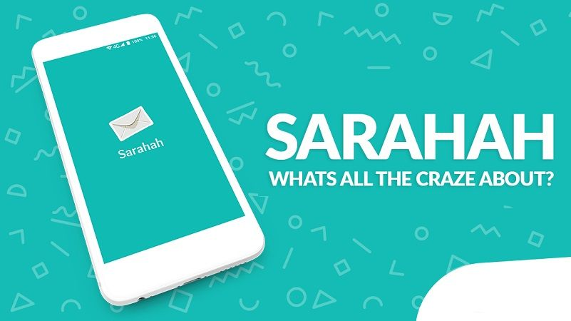 Sarahah app descargar gratis