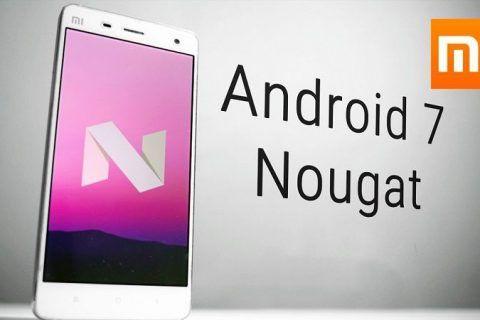 Teléfonos Xiaomi que se Actualizarán a Nougat