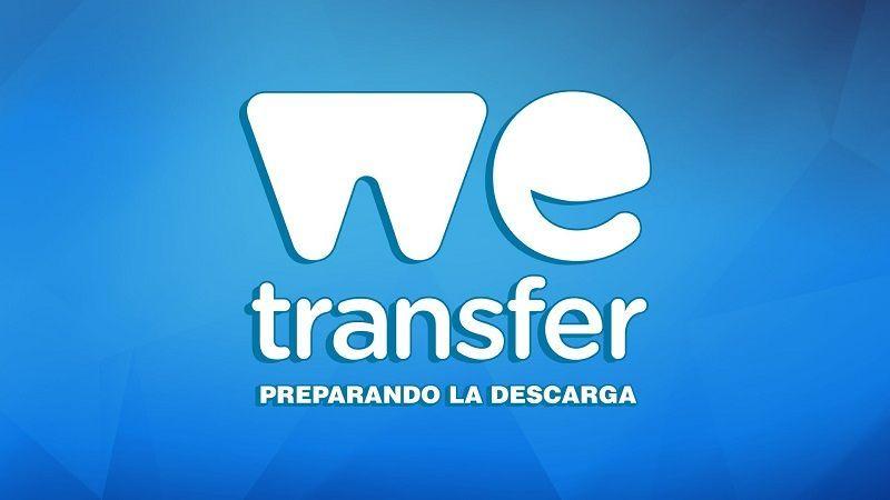 WeTransfer app para subir y descargar archivos gratis