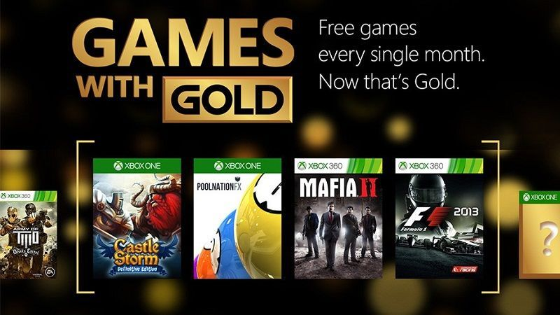 Checa los Games With Gold que llegarán a Xbox en febrero