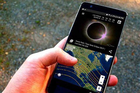 apps para ver el eclipse solar