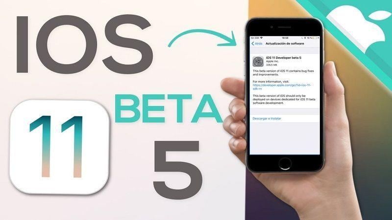 iOS 11 Beta Pública 5