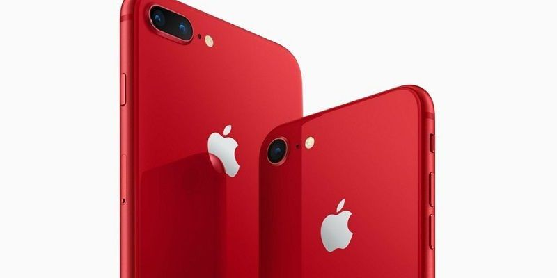iPhone Rojo 8 y 8 Plus