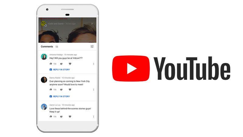 youtube historias